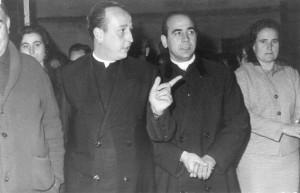 D. Antonio Sánchez y Paco Garcia, años 60