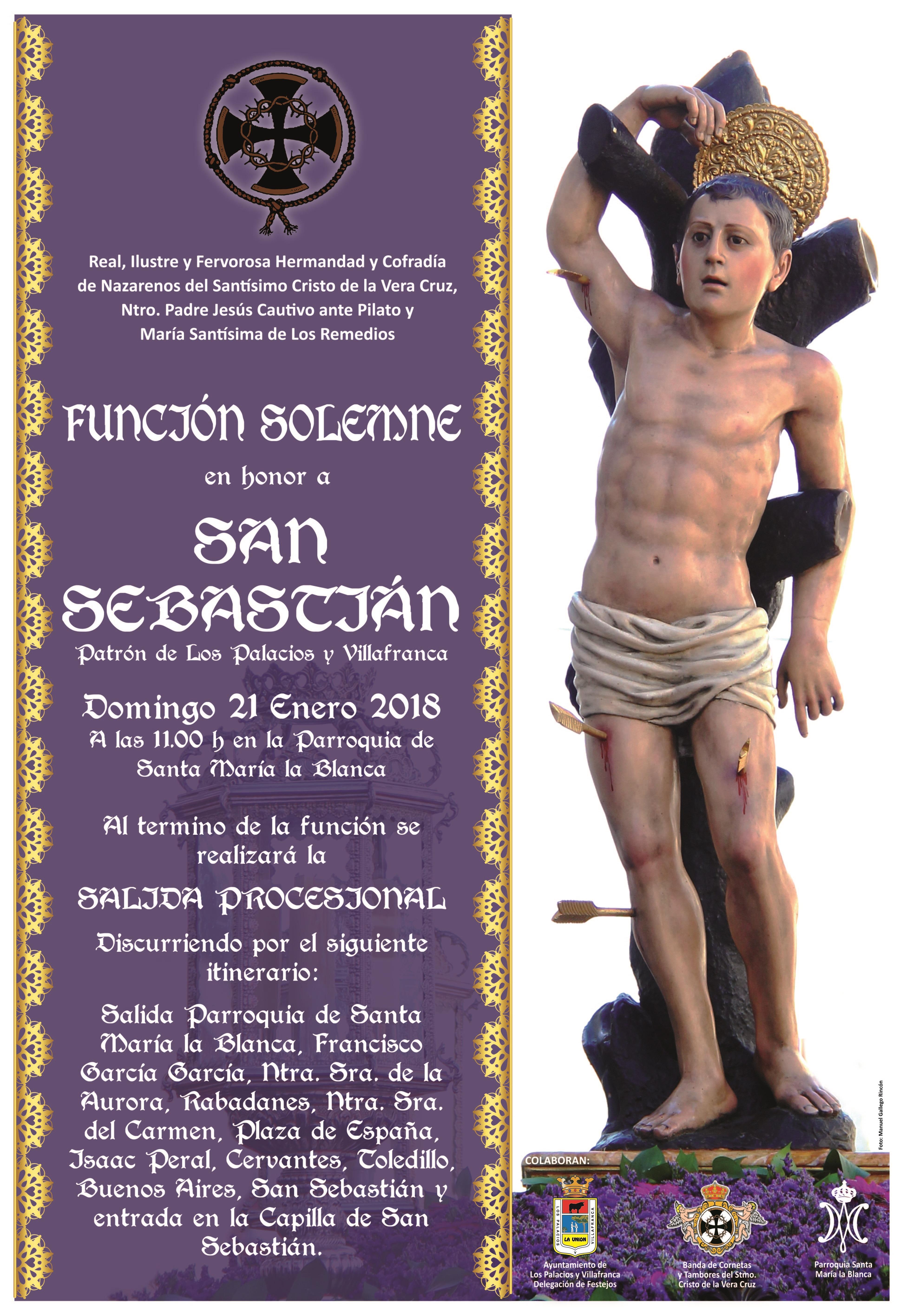 Cartel Solemnidad San Sebastián